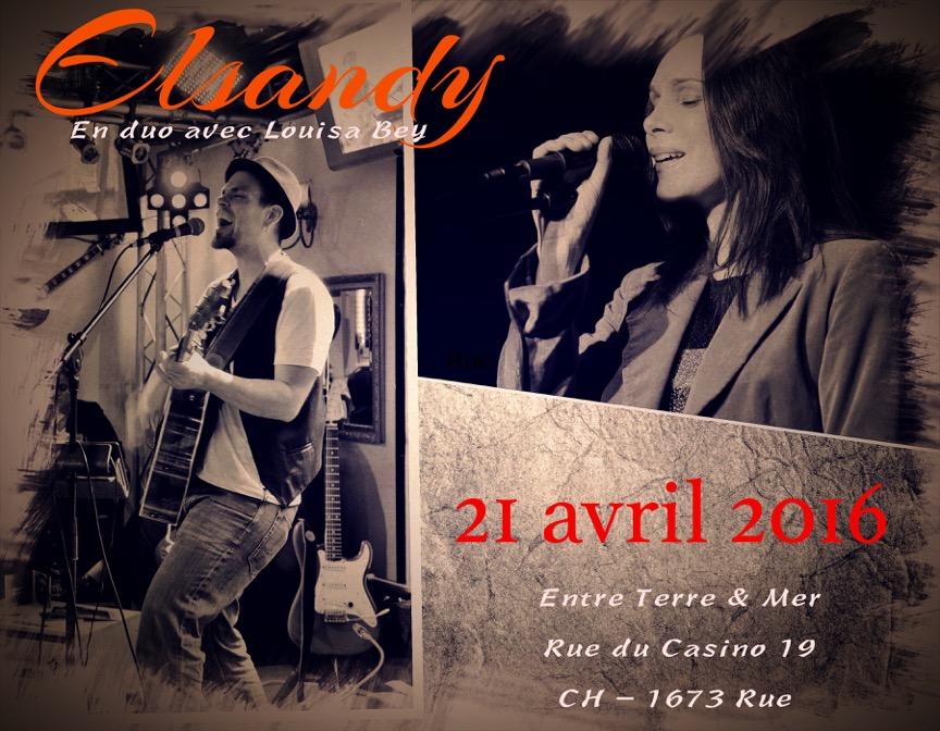 Elsandy en duo avec Louisa Bey