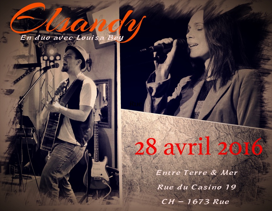 Elsandy en duo avec Louisa Bey