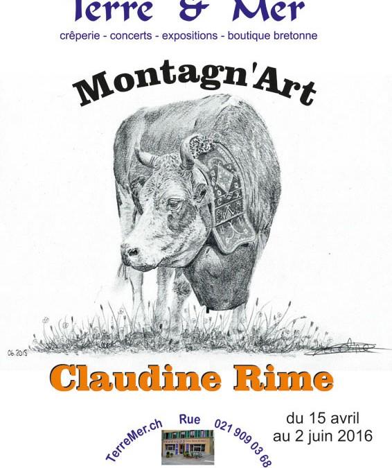 Montagn'Art / Claudine Rime