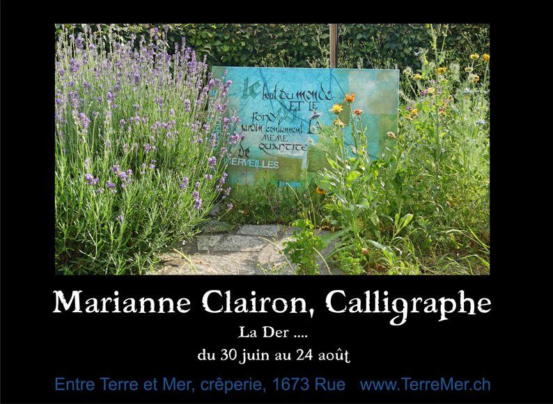 Marianne Clairon Calligraphe