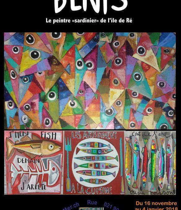"""Benis, Peintre """"sardinier"""" de l'ìle de Ré …"""