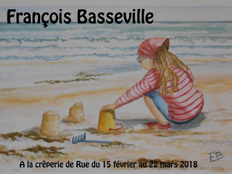 François Basseville – aquarelles