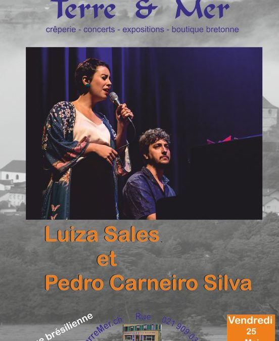 Luiza Sales et Pedro Carneiro Silva
