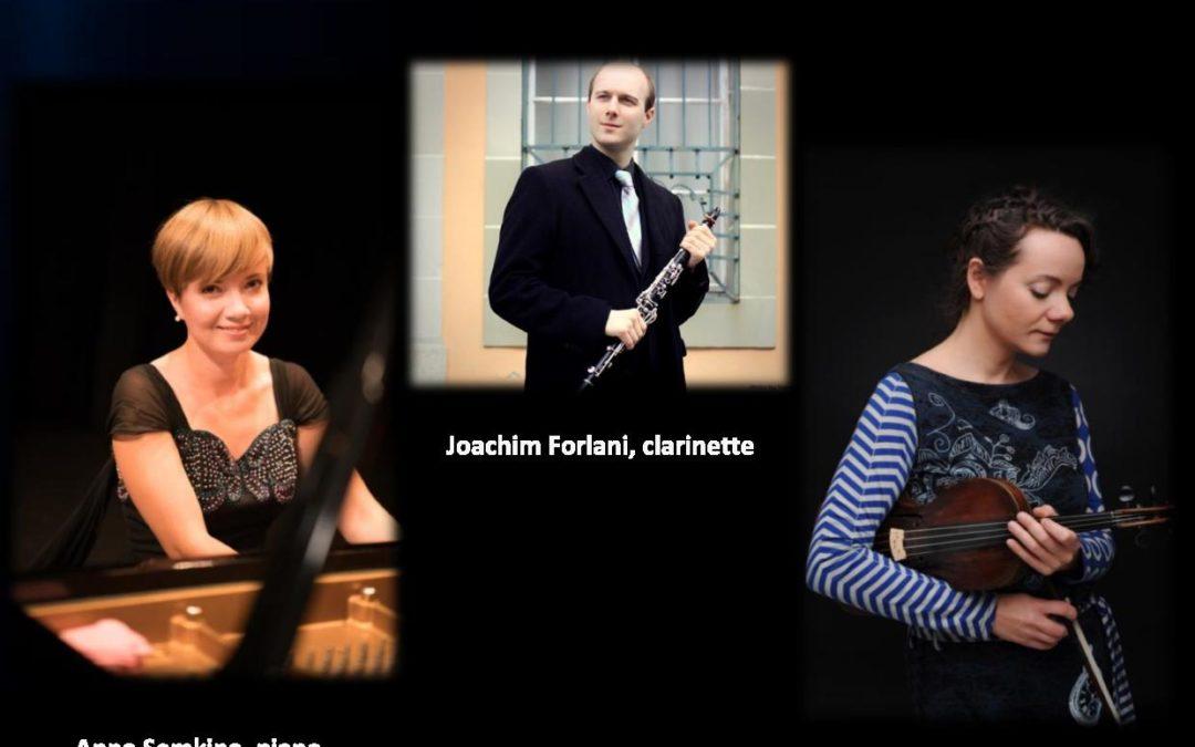Trio HERMITAGE (piano, violon clarinette)