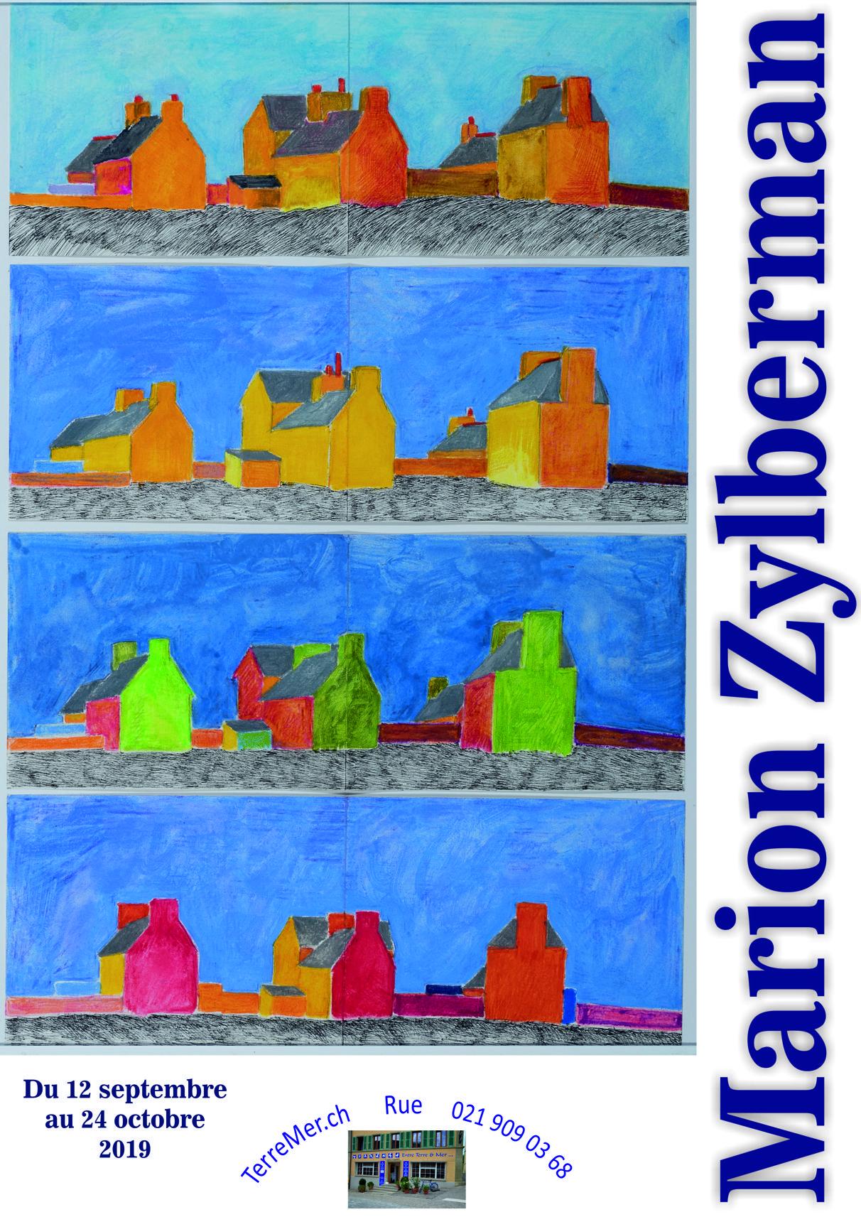 Vernissage de l'exposition de Marion Zylberman