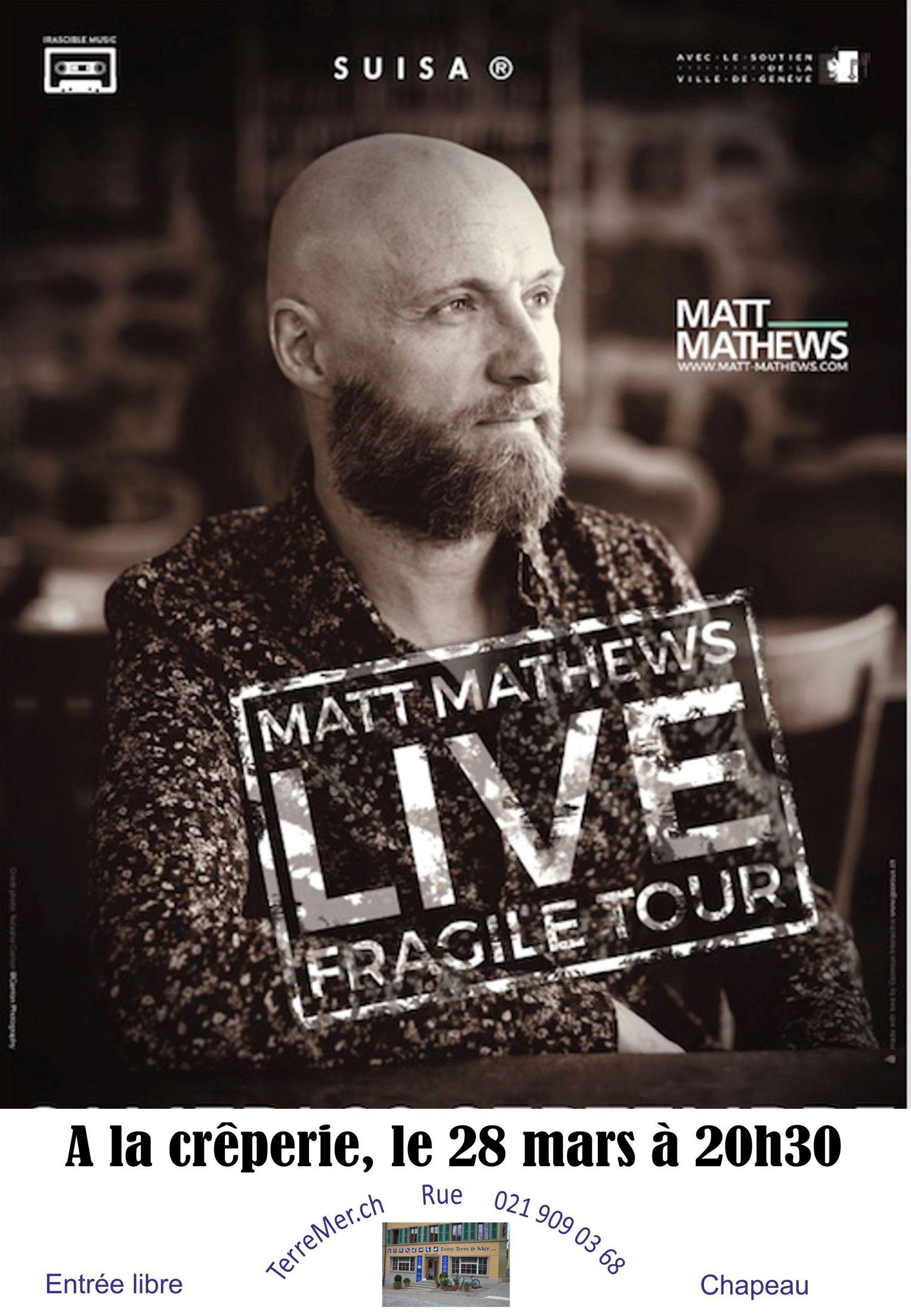 Matt Mathews    ANNULÉ