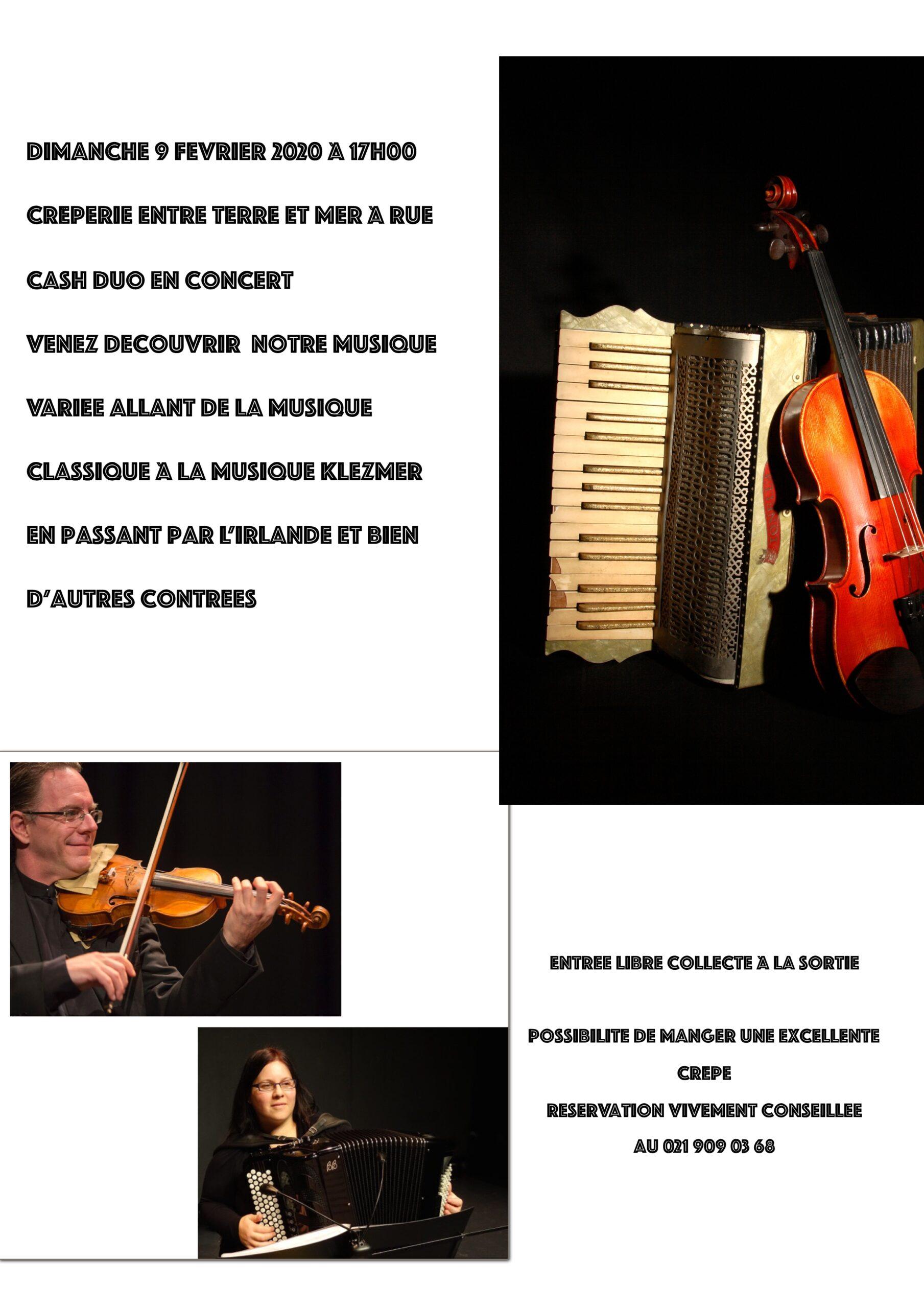 Duo accordéon/violon