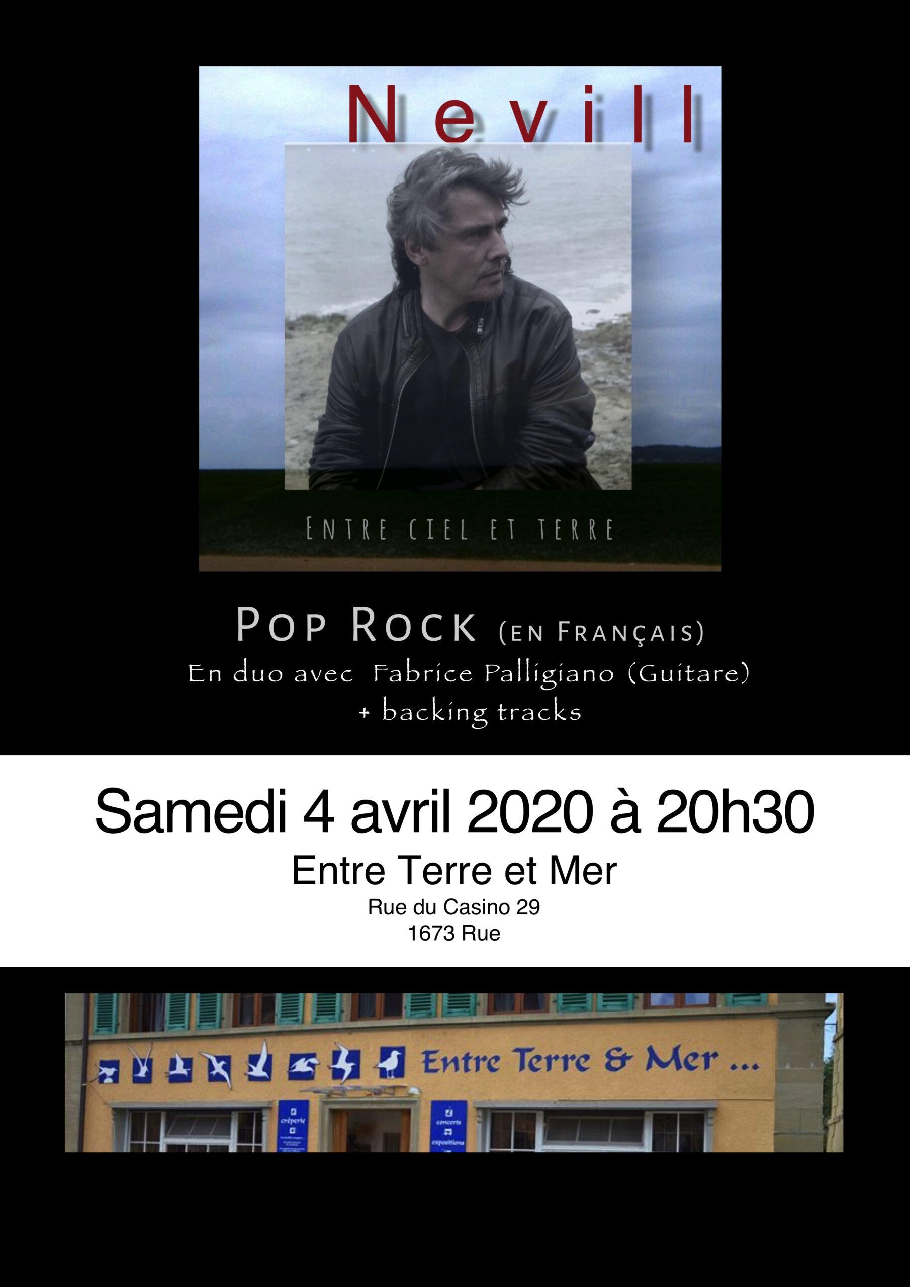 Claude Neville   ANNULÉ
